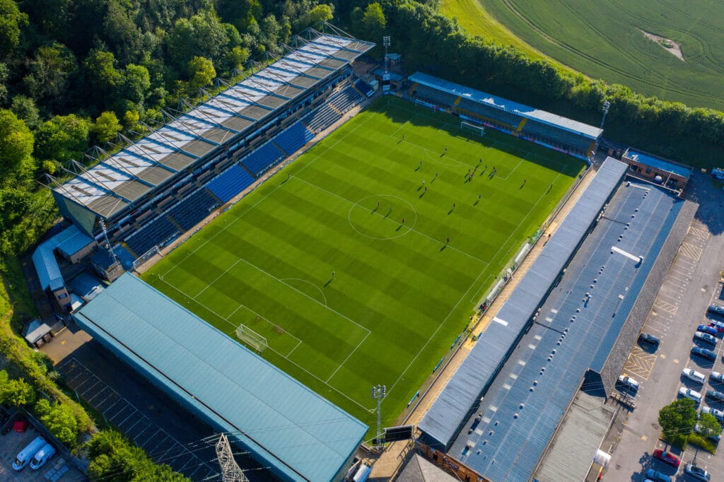 Wycombe Wanderers fans to enjoy an enhanced matchday experience at Adams Park with Landways multi-system digital infrastructure launch.